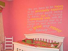 Ernest Holmes Quote Wall Decal