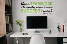 Teamwork Success Wall Decal