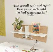 Larry Bird Quote Wall Decal