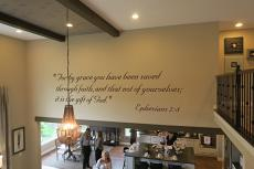 For By Grace Wall Decal