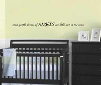 Angels We Hold Two Wall Decal