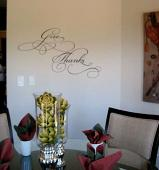 Give Thanks 2 Wall Decal