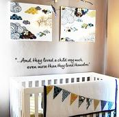 Loved the Child Wall Decal