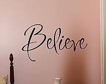 Inspiration Believe -Large- Wall Decal