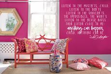 Anything Can Happen Wall Decal