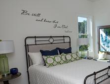 Be Still Psalm Wall Decal