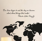 Martin Luther King Jr. Quote Wall Decal