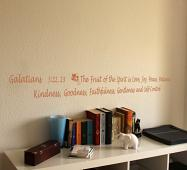 Fruit Of The Spirit Galatians Wall Decal