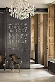 PSALM 33:20 Wall Decal