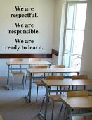 Ready to Learn Wall Decal