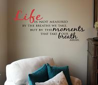 The Moments Wall Decal