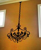 Chandelier Style 5 Wall Decal
