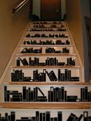 Book Stairs Wall Decal
