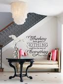 Here Goes Nothing Wall Decal