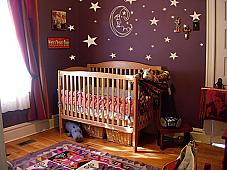 Moon & Stars Nursery Decal