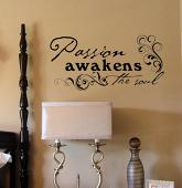 Passion Awakens Soul Wall Decal