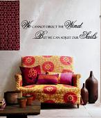 Direct the Wind Wall Decal