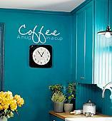 Coffee A Hug Wall Decal