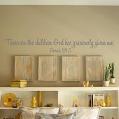 Grandchildren Wall Decal