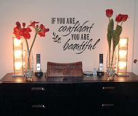 If You Are Confident Wall Decal