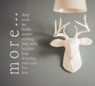 More Love Wall Decal