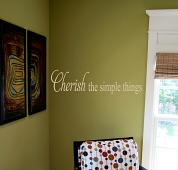 Simple Things Wall Decal