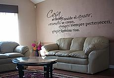 Casa Reside el Amor Wall Decal