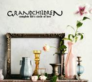 Grandchildren... Circle of Love Wall Decal