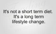 Lifestyle Change Wall Decal