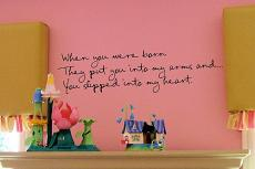 When You Were Born Wall Decal