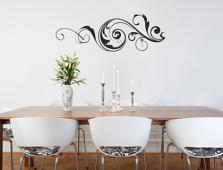 Fancy Embellishment II Wall Decal