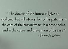 Edison Doctor Of Future Wall Decal Item