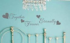Together Forever Eternally Wall Decal