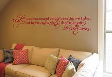 Take Breath Away Alternate Wall Decal