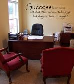 Success Meaning Wall Decal