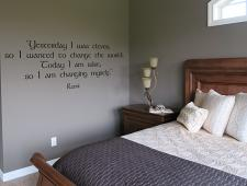 Changing Myself Wall Decal