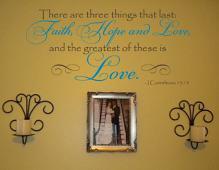 Corinthians Love Wall Decal