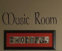 Music Room Wall Decal