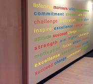 Inspiring Word Wall Decal