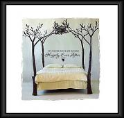 Never Too Late Happily Ever After Wall Decal
