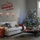 Most Wonderful Time of the Year Wall Decal