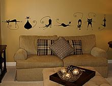 Cattitude Mass Pack Wall Decal