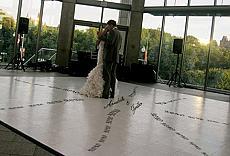 Dance Floor XOXO Design Decal