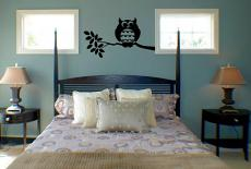 Fat Owl Wall Decal