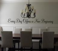 Every Day Offers A New Beginning Wall Decal