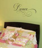 Simply Words | Dance | Wall Decals