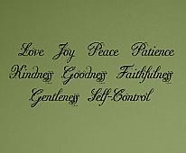 Fleurie Inspirational Words Wall Decals