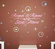 Sisters Forever Wall Decal