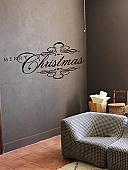 Merry Christmas  Elegant | Wall Decals