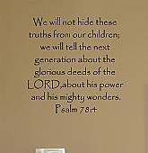 Children Truths Wall Decals